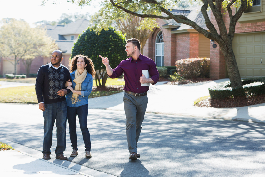 learn more about the neighborhood when buying a new home