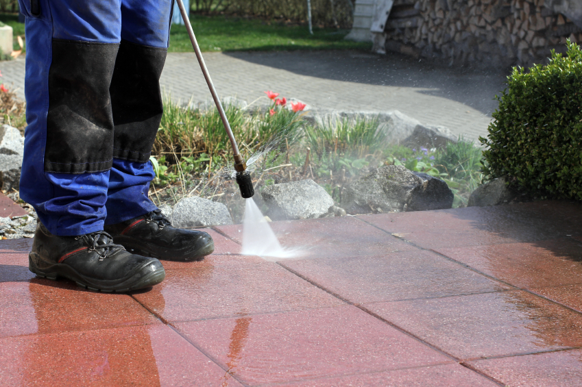 power washing your home and driveway