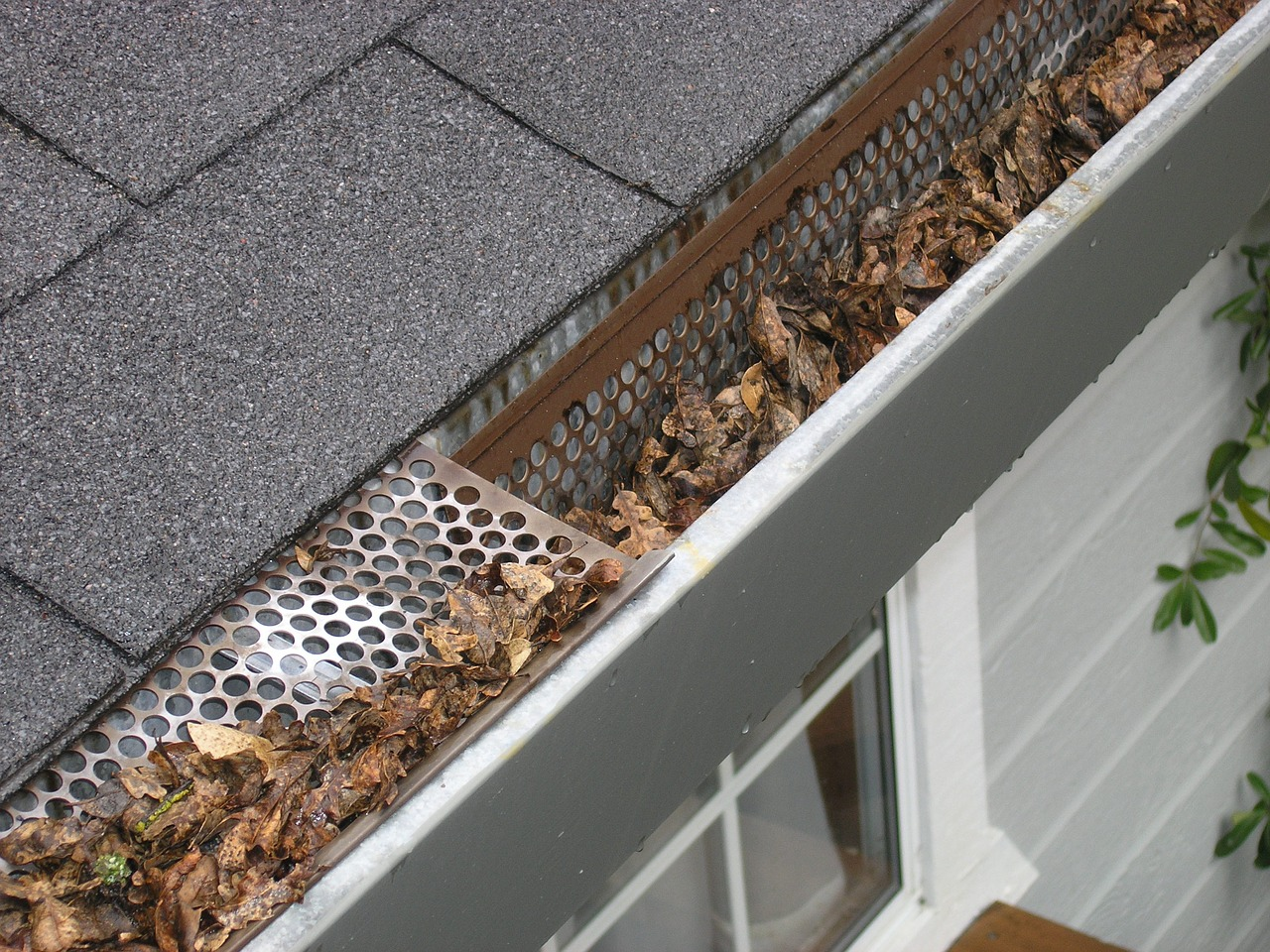 gutter guards prevent having to clean out gutters
