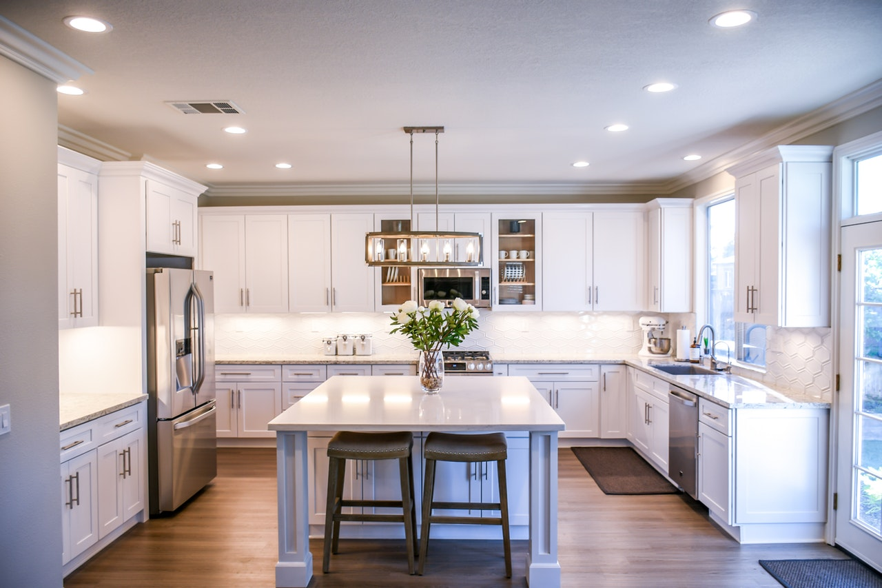 beautiful kitchen free of clutter