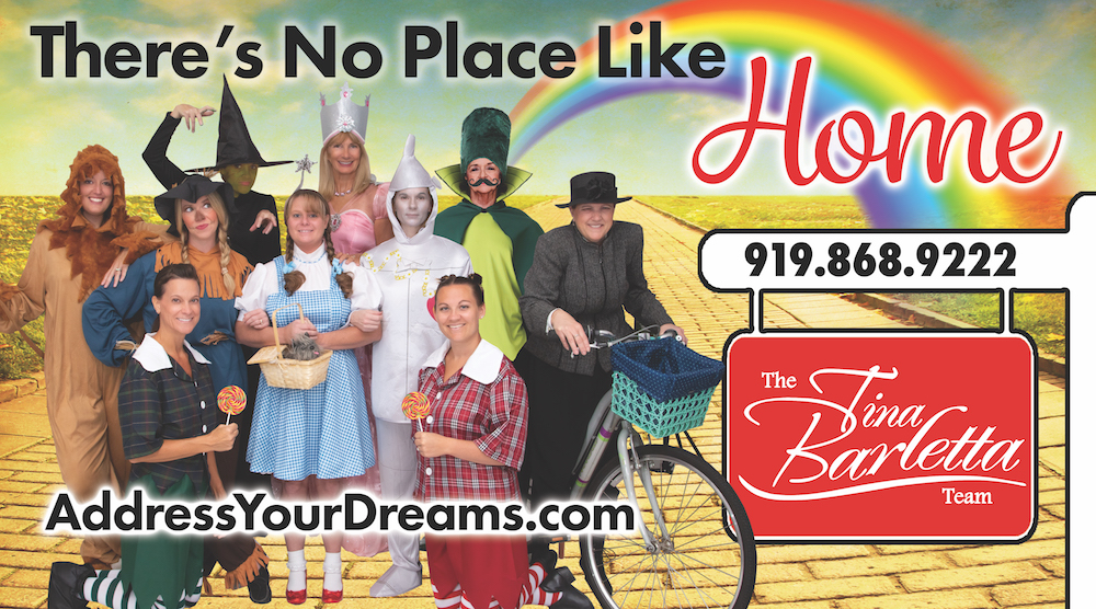 the tina barletta team dressed in wizard of oz costumes