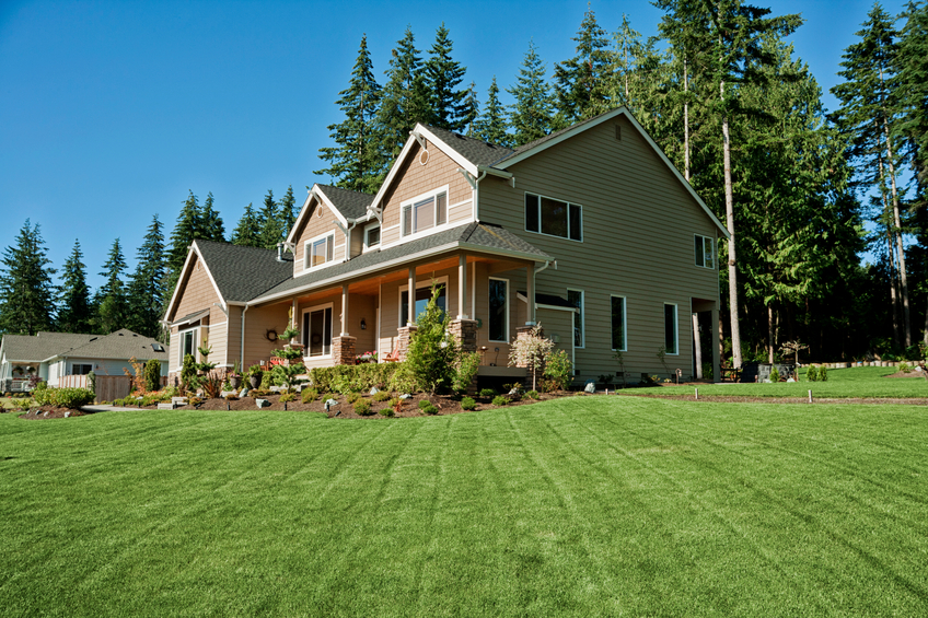 a home with beautiful curb appeal